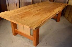 maple dining room table reclaimed old wood dining room table spalted curly maple dumond s