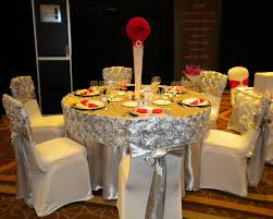 rosette chair covers distinctive decor rentals events gallery