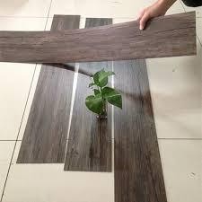 finland market self adhesive pvc vinyl wood look rubber flooring