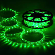 green outdoor rope lights color derektime design creative and