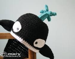 Orca Halloween Costume Crochet Killer Whale Etsy