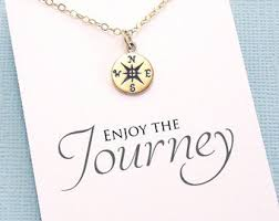 high school class necklaces graduation gifts compass necklace student gifts compass