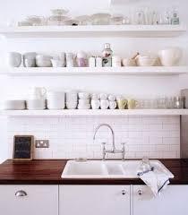 open shelves in kitchen ideas white kitchen shelves kitchen and decor