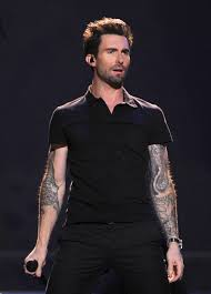 adam levine reveals his back it s an epic work of