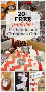 harris sisters girltalk free printables for handmade christmas gifts
