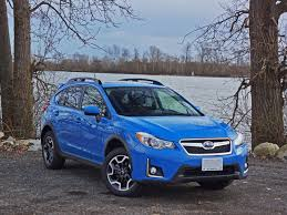 blue subaru crosstrek 2016 subaru crosstrek sport road test review carcostcanada