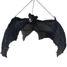 light up eyes hanging bat halloween props grave yards hunted house