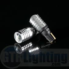 gtr lighting t10 194 168 3w cree led projector bulbs white