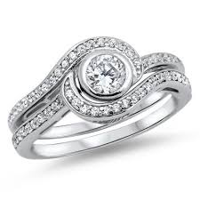 silver wedding ring sets for him and his and trio wedding rings set sterling silver wedding