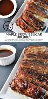 maple brown sugar bbq ribs recipe bbq ribs brown sugar and