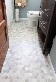 tile flooring ideas bathroom best 25 hexagon tile bathroom floor ideas on