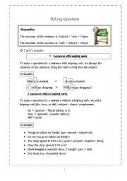 making questions worksheet the best and most comprehensive