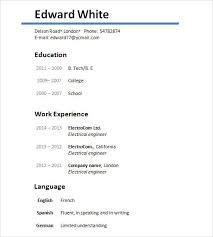 Sample Creative Resume by Sample Resume Template 24 Free Samples Examples Format