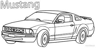 free coloring pages of mustang cars printable mustang coloring pages for kids cool2bkids teacher