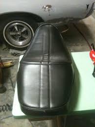 Motorcycle Seats Upholstery Kerry Adamson Motorcycle Seat My Upholstery Projects