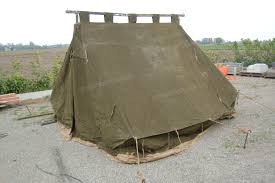 mint 100 lbs wall tent with fly sheet
