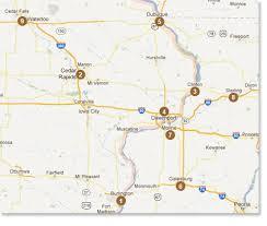 map usa iowa carpetland usa locations carpetland usa serving eastern iowa