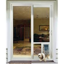 Patio Doors With Built In Pet Door Spectacular Screen Door With Doggie Door Built In Lowes About