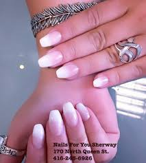 pointy chrome nails only at nails for you sherway yelp