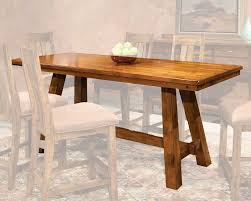 intercon counter height dining table timberline in tl ta 3684g sad tab