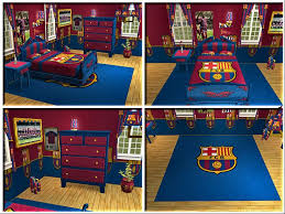 ravishing fc barcelona themed bedroom design wall ideas a fc