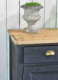 vintage victorian painted kitchen counter or island with rustic