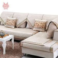 Cotton Sofa Slipcovers by Popular Sectional Grey Buy Cheap Sectional Grey Lots From China