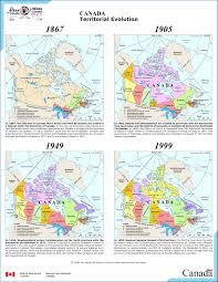 Canada Territories Map by History And Stuff How The Provinces And Territories Of Canada