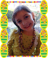 kids thanksgiving crafts how to make indian corn jewelry