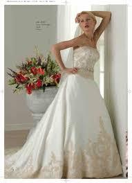 Wedding Dress Ivory Ivory And Gold Wedding Dresses Luxury Brides