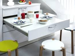 table escamotable cuisine table cuisine escamotable tiroir meuble avec newsindo co
