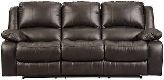 faux leather reclining sofa signature design by ashley slayton faux leather reclining sofa