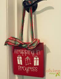 christmas door hanger lolly jane