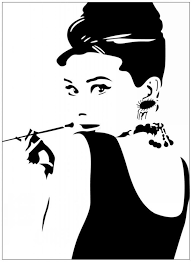 audrey hepburn removable wall decal sticker home art home decor 32 audrey hepburn removable wall decal sticker home art home decor 32 66cm for sale make your own wall stickers mario wall decals from showercurtain