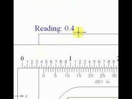 how to read a vernier caliper youtube