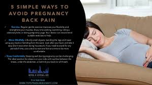 Comfortable Positions To Sleep During Pregnancy 5 Easy Ways To Avoid Back Pain During Pregnancy
