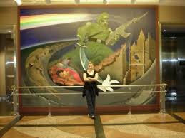 Denver Airport Murals Conspiracy Theory by Deathly Art At Dia Death Reference Desk