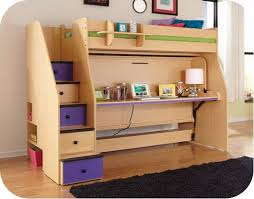 used bunk bed with desk whoa bunk bed with murphy bed on bottom desk bookshelf when not
