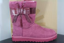 s ugg australia josette boots ugg australia josette sangria suede bow boots size us 7 eu