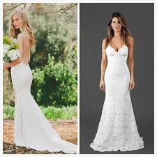 spaghetti wedding dress may bridal gowns 2016 lace wedding dresses spaghetti straps