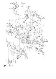 2008 suzuki boulevard c50 vl800 throttle body parts best oem