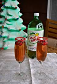 holiday champagne cocktails 2 fun holiday beverage recipes a cocktail u0026 a mocktail hezzi