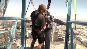 jumping off the stratosphere youtube