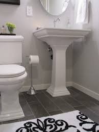 Cheap White Bathroom Tiles Aralsacom - White cabinets dark floor bathroom