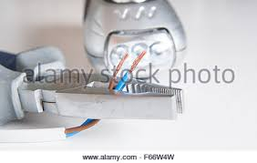 electrical equiptment for the home including pliers and wiring