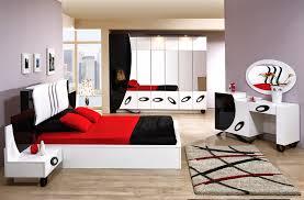chambre a coucher noir et blanc chambre moderne adulte blanche