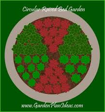 garden plans and ideas a circular raised bed garden plan garden