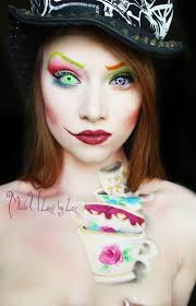 halloween mad hatter makeup inspiration pumpkins scream in the