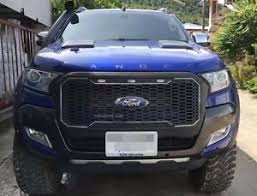 front grill ford ranger fit for ford ranger 2015 2017 t7 front grill matte black