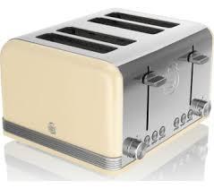 4 Slice Toaster Delonghi Delonghi Icona Vintage Cto V4003bg 4 Slice Toaster Bluewater